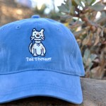 Maritime Blue Thick-Stitch Cap -- DOG $22