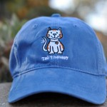 Maritime Blue Thick-Stitch Cap -- CAT $22