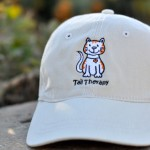 Stone Thick-Stitch Cap -- CAT $22